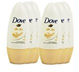 Dove 6x Silk Dry Roll-on Anti-Perspirant 48 Hour Protection Deodorant 50ml by