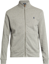 Polo Ralph Lauren Zip-through cotton sweatshirt