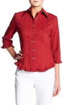 Insight Ruffle Embroidery Shirt