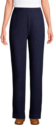 Lands' End Women's Sport French Terry Pull-On Pants
