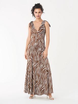 Diane von Furstenberg Scarlette Satin Gown