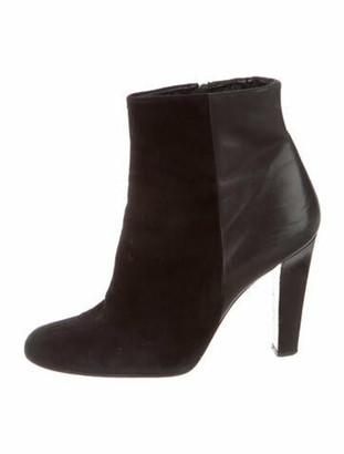 Barbara Bui Leather Boots Black