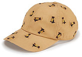 Daniel Cremieux Dog-Embroidered Twill Baseball Cap