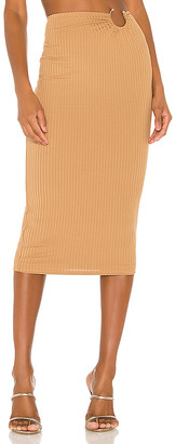 Camila Coelho Babi Midi Skirt