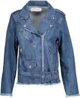 Marques Almeida Marques' Almeida Frayed denim biker jacket