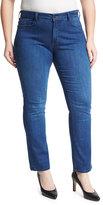 NYDJ Plus Marilyn Straight-Leg Jeans, Medium Blue, Plus Size