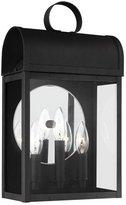 Sea Gull Lighting 8714803-12 Conroe - Three Light Outdoor Wall Lantern, Finish with Clear Glass