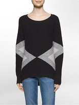 Calvin Klein Colorblock Crewneck Top