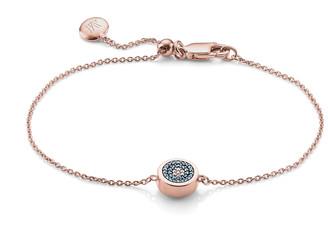 Monica Vinader Evil Eye Chain Bracelet