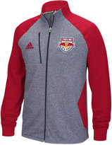 adidas Men's New York Red Bulls Fleece Track Jacket