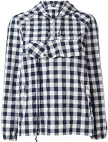 Peter Jensen Gingham anorak jacket - women - Cotton/Polyamide - XS
