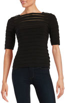 Adrianna Papell Pintucked Top