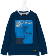 Finger In The Nose The Modern Youth print sweatshirt