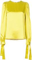 MSGM tie sleeve blouse - women - Acetate/Viscose - 42