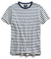 Todd Snyder Short Sleeve Sweatshirt in Nautical Stripe