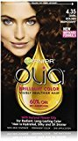 Garnier Olia Oil Powered Permanent Hair Color, 4.35 Dark Golden Mahogany (Packaging May Vary)