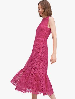 Kate Spade Scallop Lace Dress
