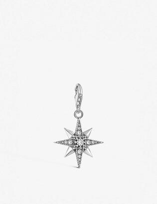 Thomas Sabo Charm Club Royalty Star sterling silver and cubic zirconia charm