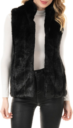 Fabulous Furs Signature Faux-Fur Vest - Inclusive Sizing