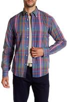 Gant R. Fall Handloom Madras Long Sleeve E-Z Fit Shirt