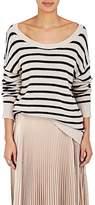 A.L.C. Women's Rowan Striped Cotton-Blend Sweater