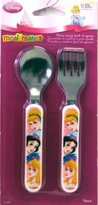 The First Years The Fist Year's Learning Curve Princess Easy Grasp Flatware (3-Pack)