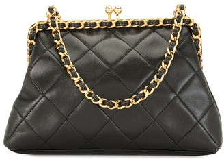 Chanel Pre Owned 1995 Pre-Owned Quilted Clutch