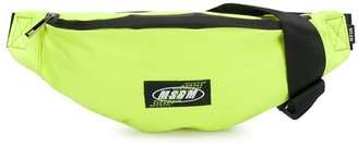 Msgm Kids Logo Patch Belt Bag
