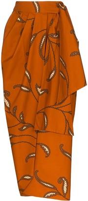 Johanna Ortiz Eco Warrior cotton wrap skirt