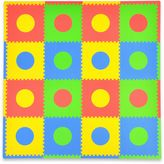 Tadpoles TadpolesTM by Sleeping Partners Circles 16-Piece Playmat Set in Primary Multicolor