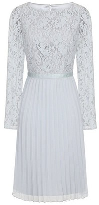 Dorothy Perkins Womens Chi Chi London Blue Lace Midi Dress, Blue