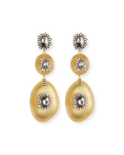 Alexis Bittar Triple Lucite® Drop Earrings