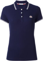 Moncler short sleeve polo shirt - women - Cotton - S