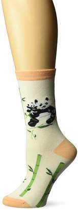 K. Bell Socks Women's Pandas Crew Socks