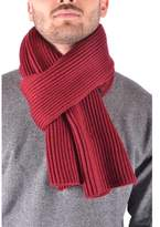 Stone Island Men's Red Wool Scarf.
