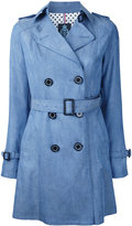 GUILD PRIME belted trench coat - women - Tencel - 36