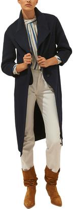BA&SH Ball Wool-Blend Coat