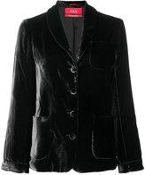 F.R.S For Restless Sleepers velvet blazer