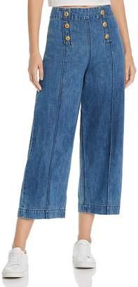 MKT Studio Pepin Sailor-Style Denim Pants