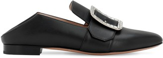 Bally 10MM JANELLE CRYSTAL LEATHER LOAFERS