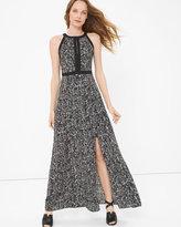 White House Black Market Printed Maxi Dress