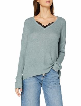Vero Moda Women's Vmnora Ls V-Neck Blouse Long Sleeve Top
