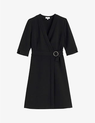 Claudie Pierlot Rasima woven mini dress