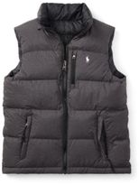 Ralph Lauren Reversible Quilted Down Vest Polo Black Xl