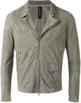 Giorgio Brato zip jacket - men - Leather - 48