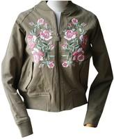 Anine Bing Khaki Cotton Jacket for Women