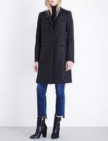 French Connection Platform cashmere-blend coat