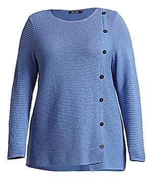 NIC + ZOE, Plus Size NIC + ZOE, Plus Size Women's Shape Up Knit Sweater