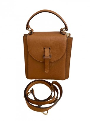 Meli-Melo Camel Leather Handbags
