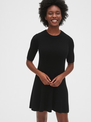 Gap Rib Flare Dress